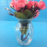 100ml迷你玻璃花瓶生产商,工艺玻璃花瓶批发