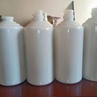 厂家直销乳白料玻璃酒瓶,徐州生产茅台酒玻璃瓶