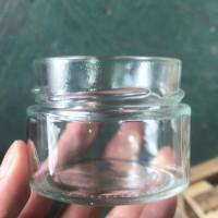 热销180ml高盖麻辣酱玻璃瓶,厂家直销玻璃果酱瓶