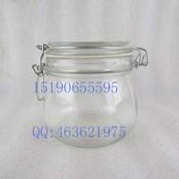 厂家直销玻璃卡扣罐,密封玻璃罐生产商
