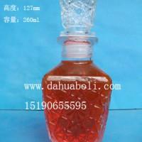 250ml工艺玻璃酒瓶