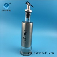 徐州生产300ml橄榄油玻璃瓶,厂家直销玻璃油壶