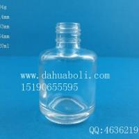 徐州生产20ml指甲油玻璃瓶,厂家直销玻璃化妆品瓶