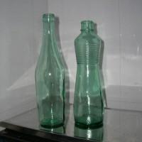 青料玻璃瓶