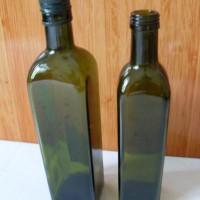 徐州生产墨绿色橄榄油玻璃瓶批发