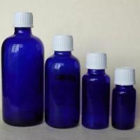 蓝色精油玻璃瓶生产商