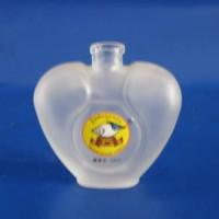 徐州生产蒙砂香水玻璃瓶
