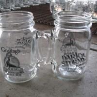 丝印玻璃把子杯生产厂家