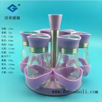 厂家直销100ml粉色胡椒粉玻璃瓶套装,调料玻璃瓶生产商