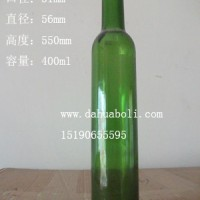 400ml绿色葡萄酒玻璃瓶红酒玻璃瓶生产商