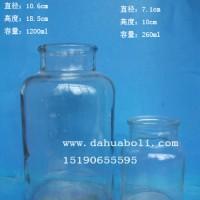 广口试剂玻璃瓶批发医药玻璃瓶生产商