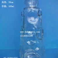 徐州生产580ml玻璃喂鸟器玻璃饮鸟器瓶生产厂家