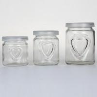 徐州生产心形布丁玻璃瓶酸奶玻璃瓶生产厂家