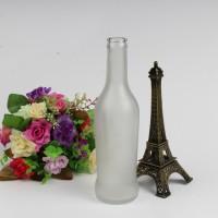 批发275ml蒙砂鸡尾酒玻璃瓶汽水玻璃瓶生产厂家