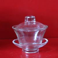 徐州玻璃盖碗茶生产厂家订制各种玻璃杯