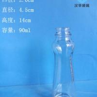 厂家直销90ml麻油玻璃瓶香油玻璃瓶批发