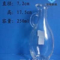 徐州生产250ml鸭嘴玻璃油瓶支持订制