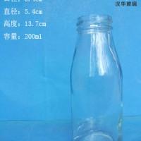 200ml果汁玻璃瓶生产商饮料玻璃瓶批发