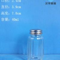热销40ml调料玻璃瓶调味玻璃瓶批发