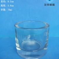 徐州70ml蜡烛玻璃杯生产商工艺玻璃烛台批发