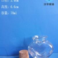 热销70ml许愿玻璃瓶工艺玻璃瓶生产厂家