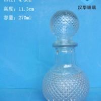 厂家直销250ml地球玻璃工艺酒瓶半斤装保健酒瓶