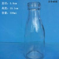 厂家直销200ml牛奶玻璃瓶酸奶玻璃瓶批发
