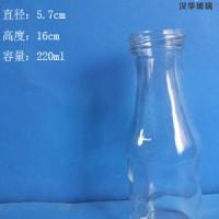 批发220ml果汁玻璃瓶徐州饮料玻璃瓶批发