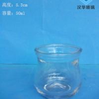 热销50ml玻璃烛台蜡烛玻璃杯生产厂家
