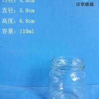 热销100ml辣椒酱玻璃瓶果酱玻璃瓶批发