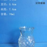 厂家直销70ml玻璃烛台蜡烛玻璃杯生产厂家