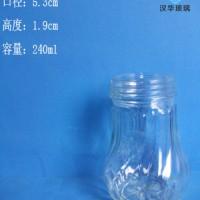 徐州生产240ml调料玻璃瓶胡椒粉玻璃瓶批发