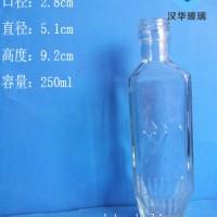 徐州生产250ml玻璃酒瓶厂家直销白酒玻璃瓶