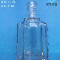 徐州生产250ml保健酒玻璃瓶工艺玻璃酒瓶批发