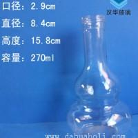 徐州生产半斤装葫芦玻璃酒瓶250ml葫芦玻璃酒瓶