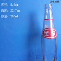 热销250ml汽水玻璃瓶酸奶玻璃瓶生产商