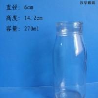 250ml压盖牛奶玻璃瓶