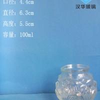 徐州生产100ml莲花玻璃烛台工艺蜡烛玻璃杯批发
