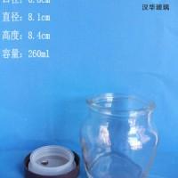 徐州生产250ml罐头玻璃瓶果酱玻璃瓶批发