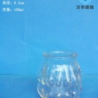 徐州生产100ml布丁玻璃瓶酸奶玻璃瓶批发
