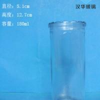 厂家直销180ml直筒玻璃烛台蜡烛玻璃杯批发