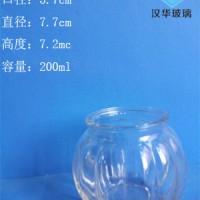 热销200ml工艺玻璃烛台徐州蜡烛玻璃杯批发