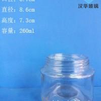 热销250ml圆形蜂蜜玻璃瓶徐州玻璃蜂蜜瓶批发