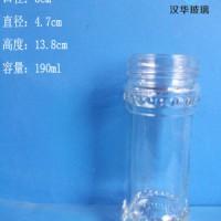 徐州生产190ml麻辣酱玻璃瓶辣椒酱玻璃瓶批发