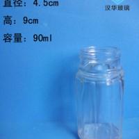 厂家直销90ml胡椒粉玻璃瓶玻璃调料瓶批发