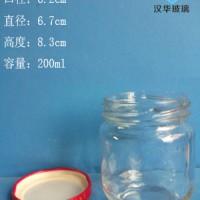 徐州生产195ml麻辣酱玻璃瓶,辣椒酱玻璃瓶生产厂家