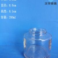 徐州生产280ml蜂蜜玻璃瓶,厂家直销玻璃蜂蜜瓶