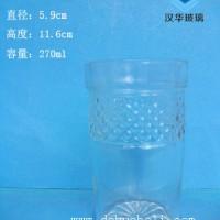 徐州生产270ml出口玻璃果汁杯价格