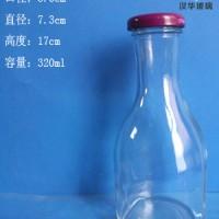 厂家直销340ml果汁玻璃瓶,饮料玻璃瓶生产厂家