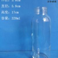 徐州生产300ml手提玻璃水杯果汁玻璃杯批发